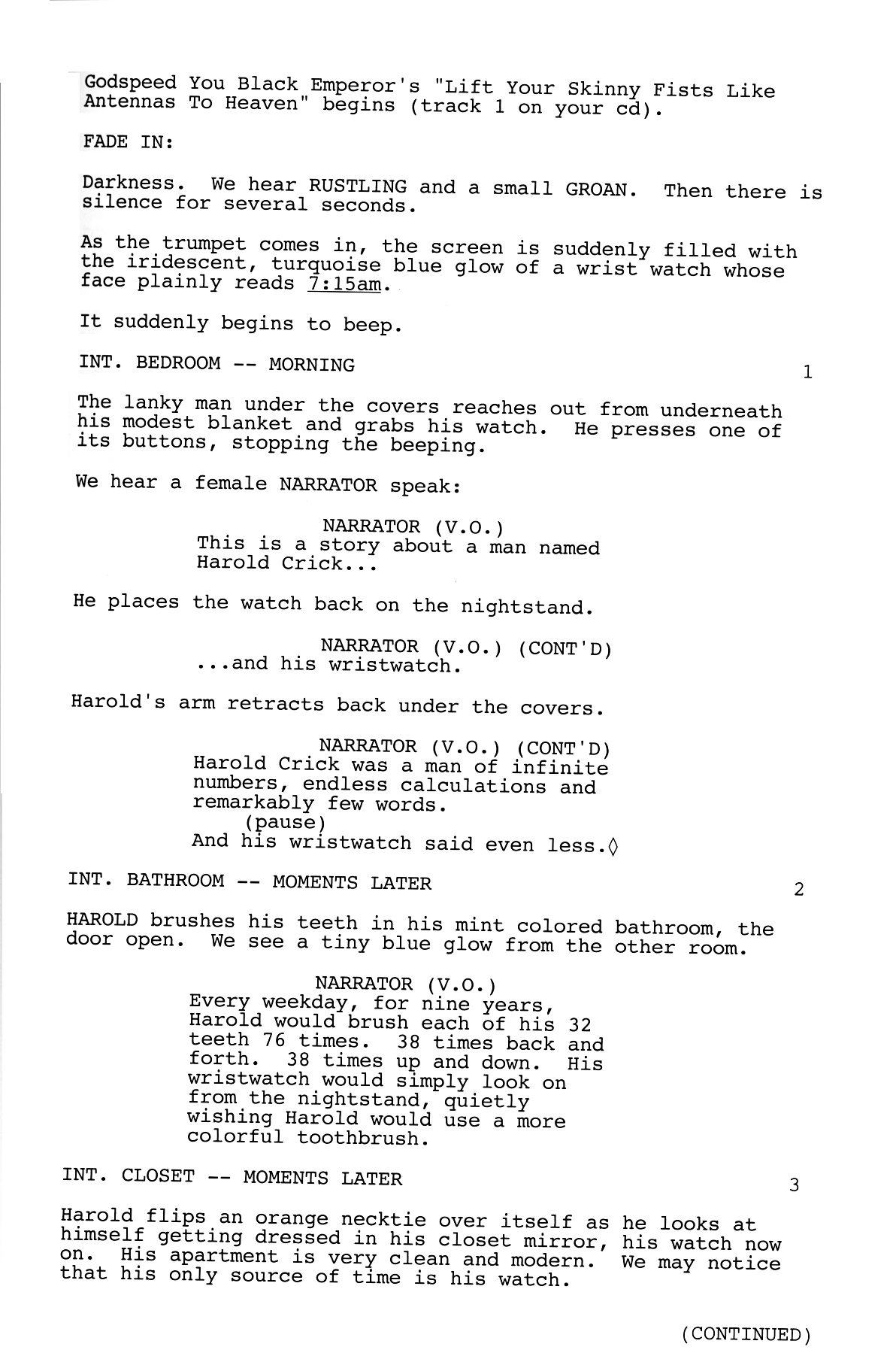 How to write a script and film a movie?
